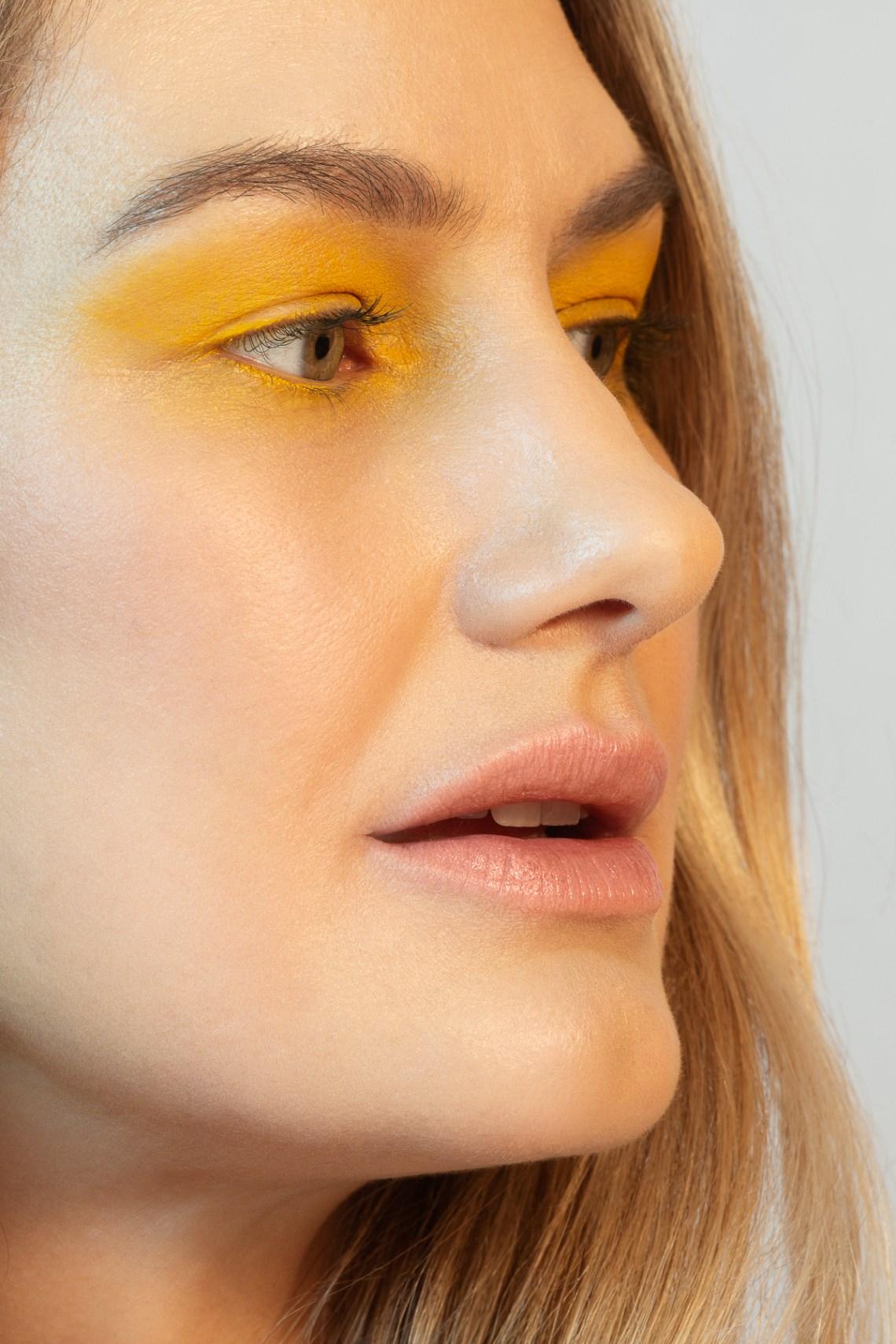Clean skin beauty portrait photography by Ella Sophie, Oakland CA