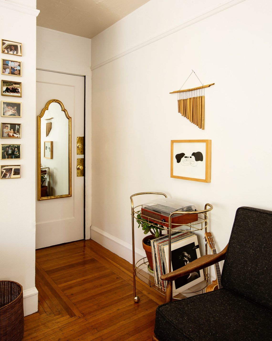 Small apartment decor ideas, by designer Carrie Burch