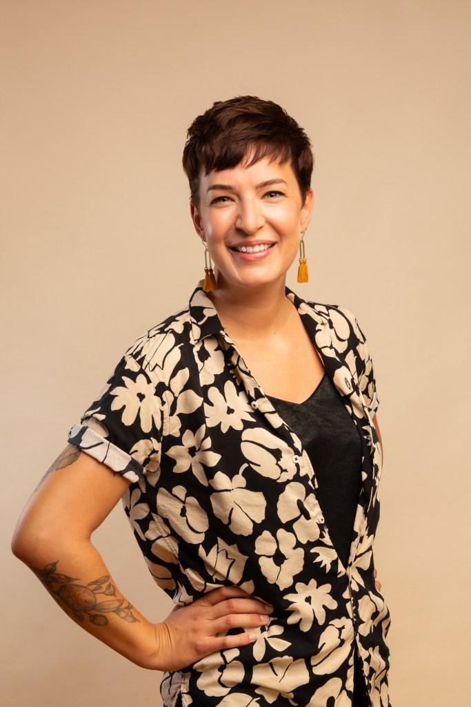 Oakland Portrait Studio of Interior Designer Carrie Burch