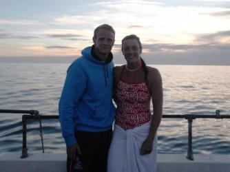 Martin and Rach sunset