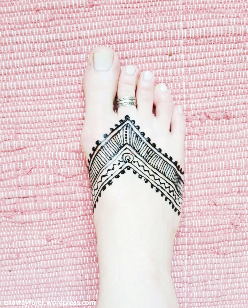 Diy Henna Fuss Tattoo Tribal 3 Ella Wayfarer