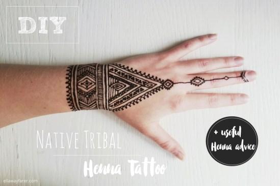 Native Tribal Henna