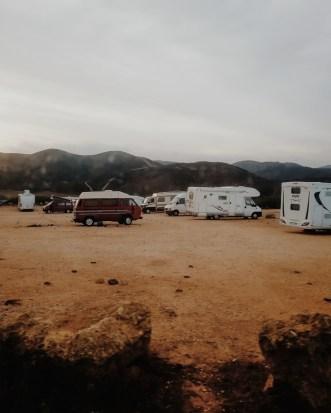 Living in a Van in Portugal: Praia do Amado