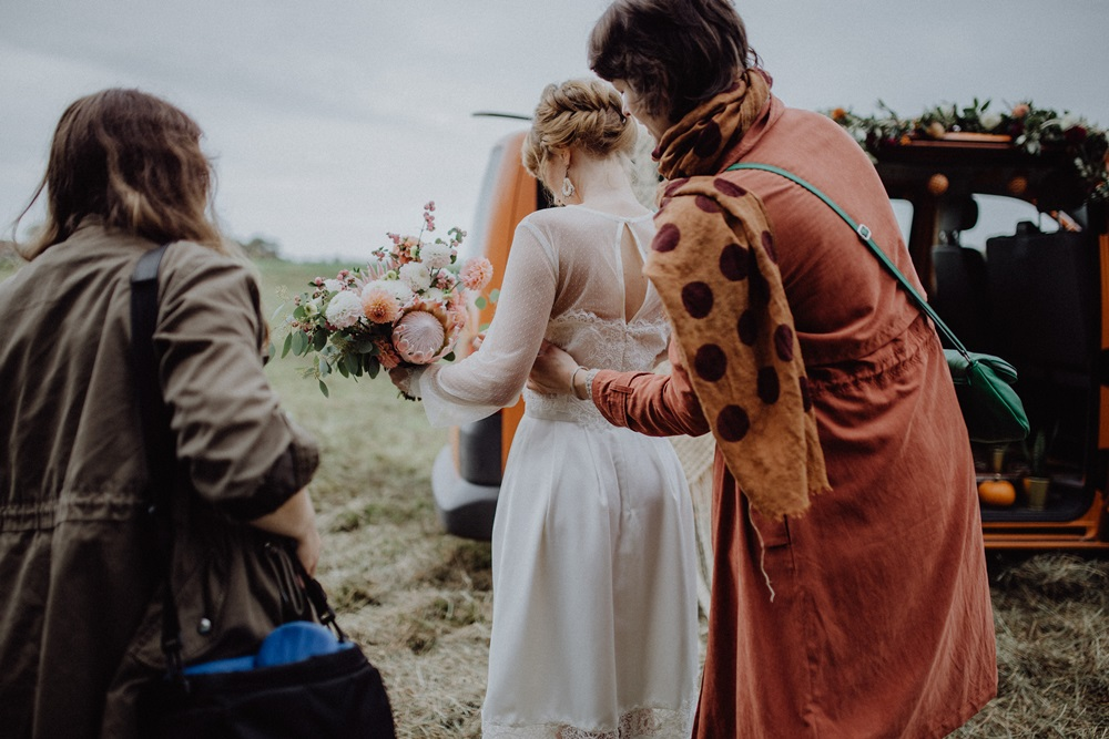 Making Of: Pumpkin the Boho Wedding Carriage