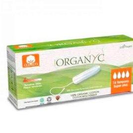 Tampón regular c/aplic 100% nat   ORGANYC