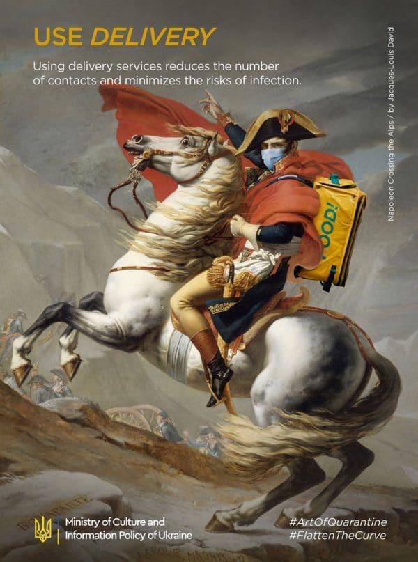 Arte en la cuarentena. 9 pinturas famosas adaptadas