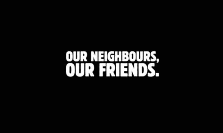 Campaña Burger King Neighbour to neighbour Reino Unido