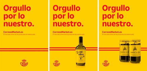 """""""Orgullo por lo nuestro"""" grafica del nuevo anuncio de Correos"""
