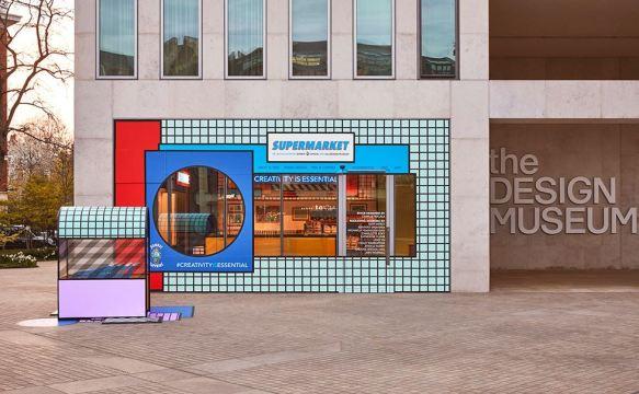 supermercado diseñado por artistas exterior