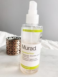 murad hydrating face toner