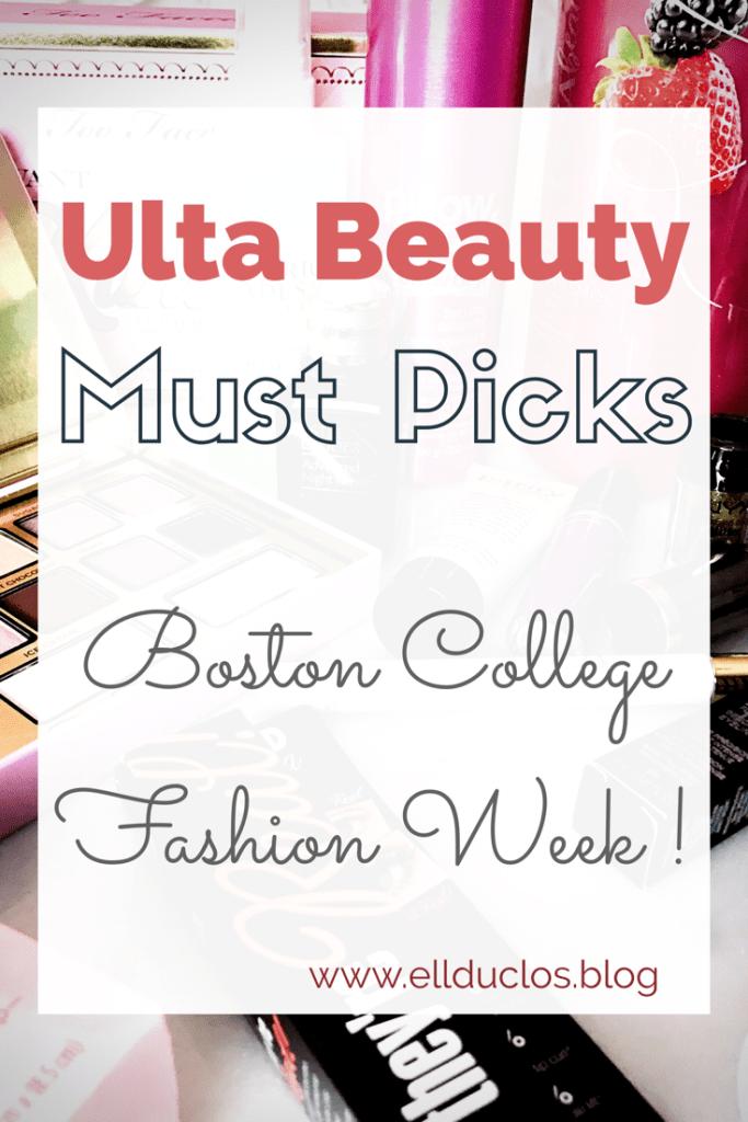 Boston College Fashion Week – Ulta Beauty