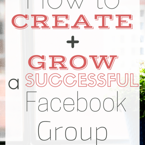 grow and create a successful Facebook Group