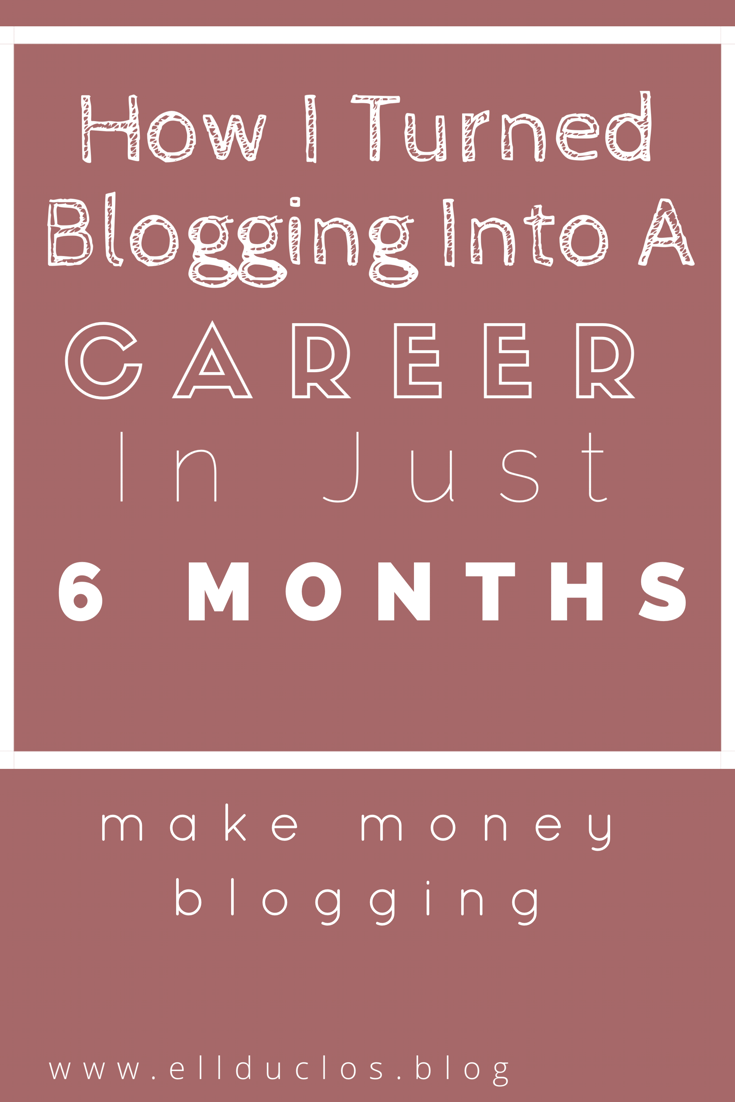 achieve blogging success - make money blogging