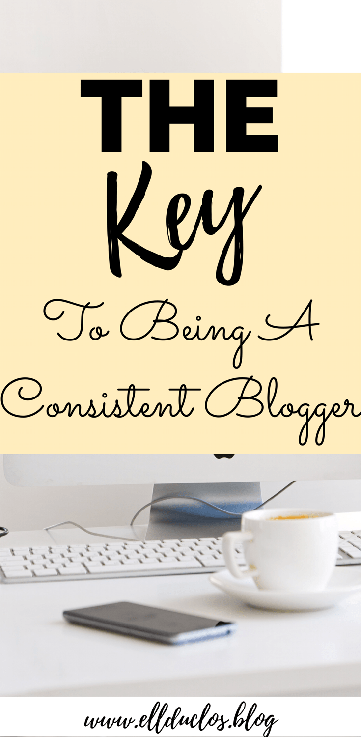 Do you struggle with consistency as a blogger? Trying to keep up! Here are some tricks for being a consistent blogger!