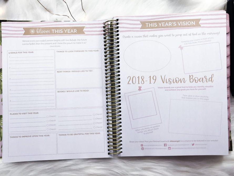 creating a blog vision