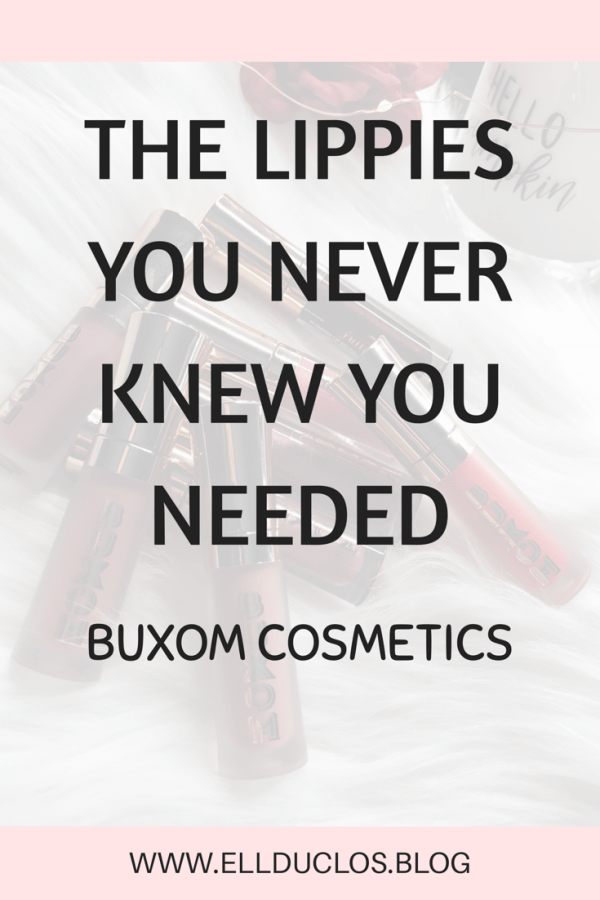 The lip products you never knew you needed. - BUXOM Cosmetics lip products, review and swatches.