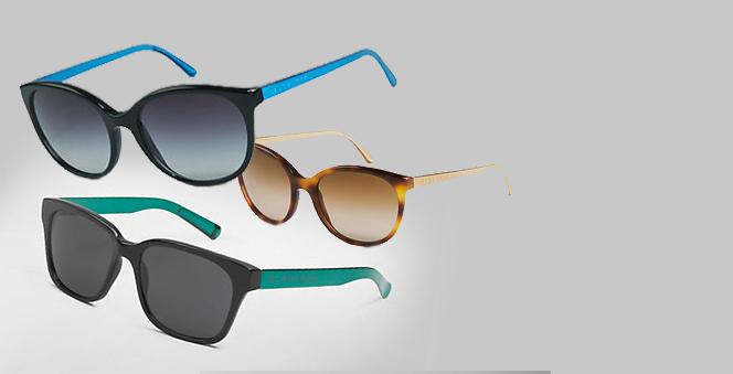 Funky γυαλιά από τον οίκο Burberry  Το βρετανικό brand παίζει με τις διχρωμίες και προτείνει εντυπωσιακά αξεσουάρ για το καλοκαίρι.