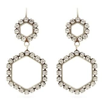 Σκουλαρίκια με κρυστάλλους, Isabel Marant.