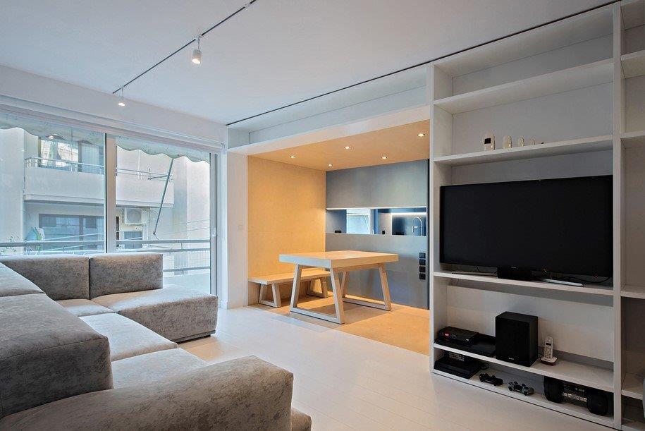 Ένα παλιό διαμέρισμα στον Κορυδαλλό είναι το πιο βραβευμένο στην Αθήνα