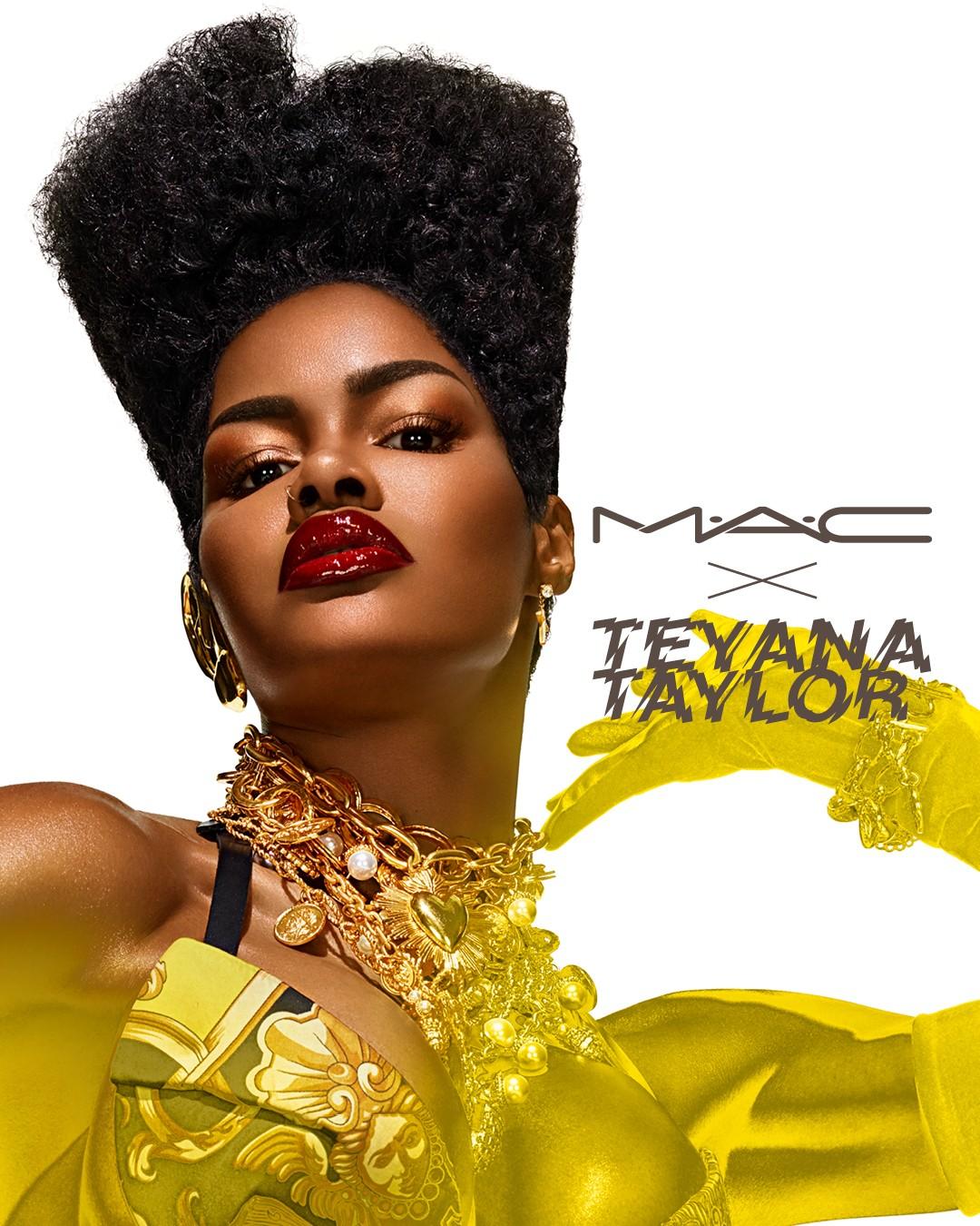 Η νέα συνεργασία της M.A.C με την Teyana Taylor