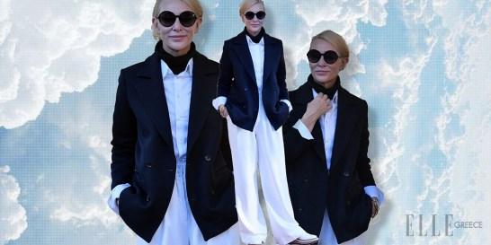 Η Cate Blanchett σου βάζει τα γυαλιά! Αυτό είναι το απόλυτο office look του φθινοπώρου Υπέρκομψη όπως πάντα, η ηθοποιός έδωσε το «παρόν» στο Φεστιβάλ της Βενετίας και εμείς ξεχωρίσαμε το super classy outfit της ως την No1 επιλογή μας για το γραφείο (και όχι μόνο!).