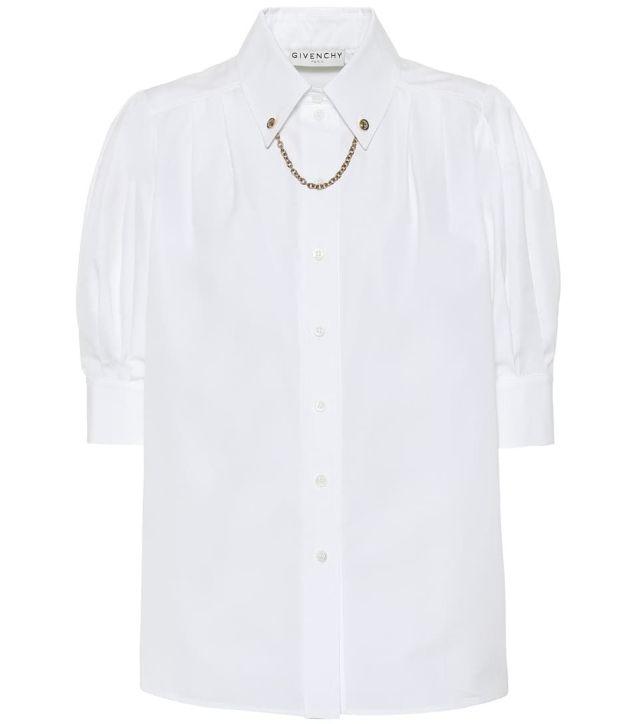 Πουκάμισο με αλυσίδα στο λαιμό, Givenchy.