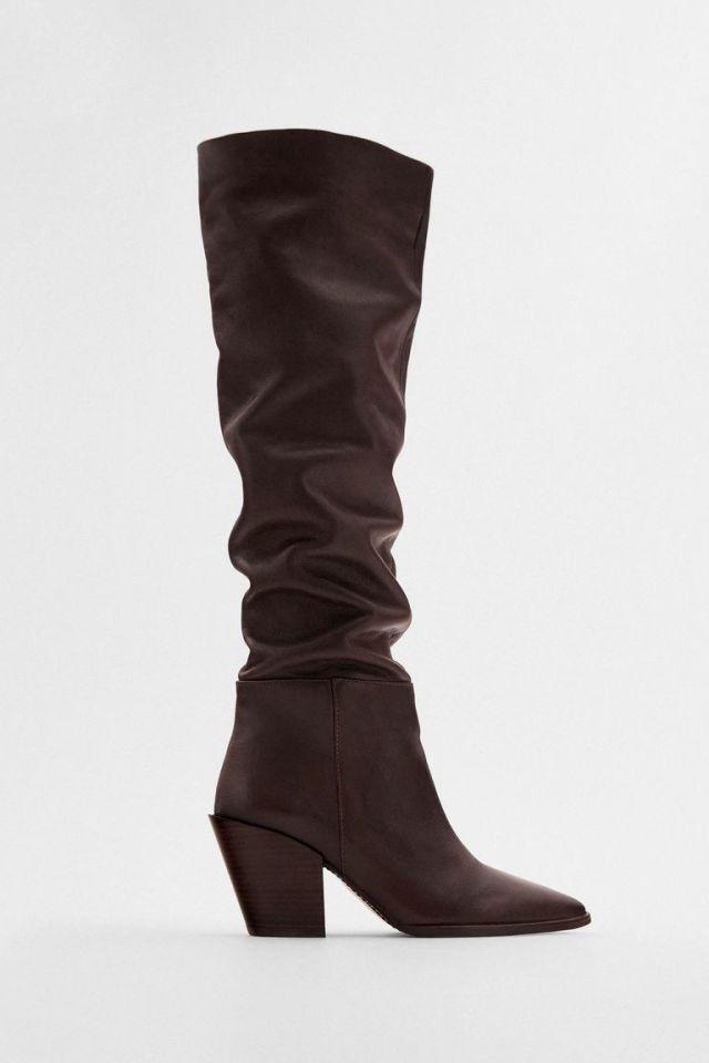 Ψηλή μπότα, Zara.