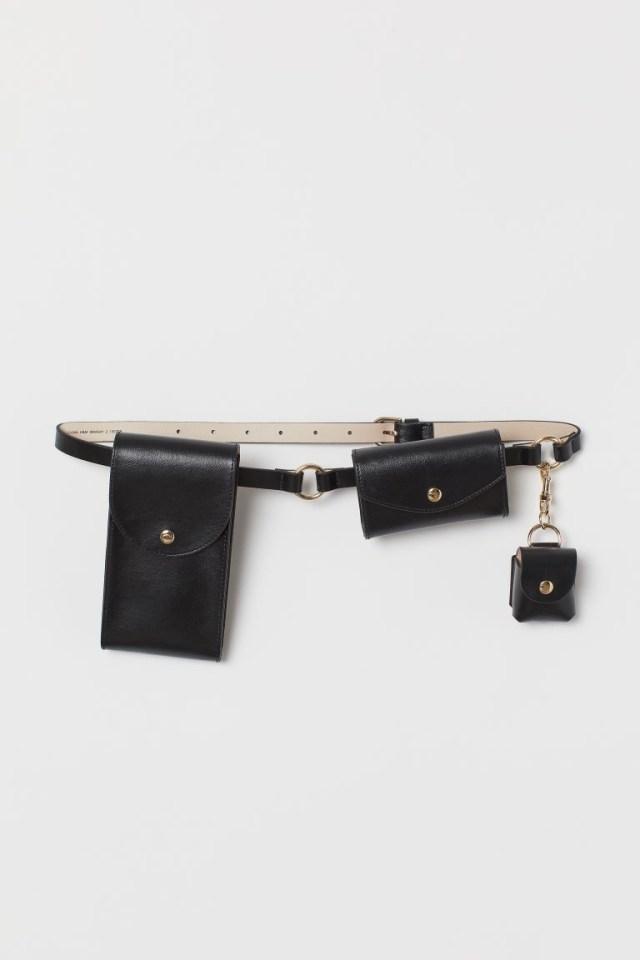Ζώνη-τσαντάκι μέσης, H&M.