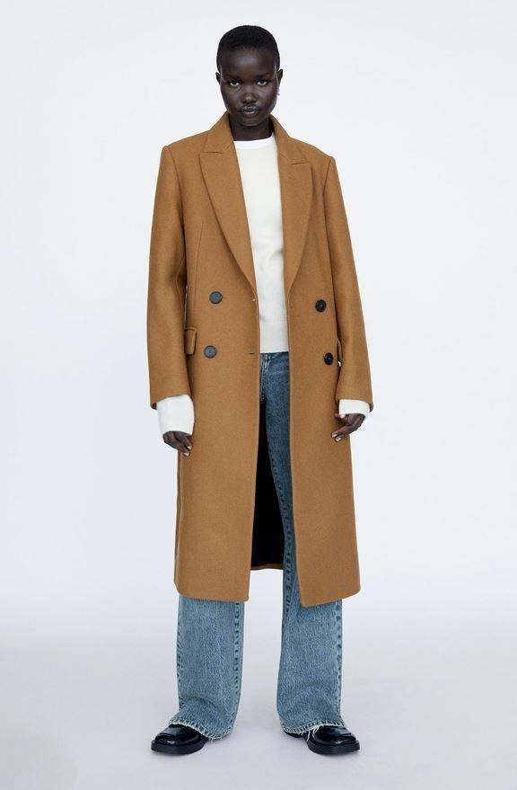 Καμηλό παλτό, Zara.