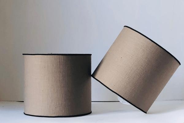 Plain lampshades