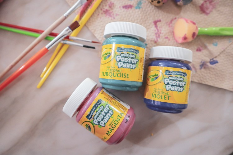 Washable Poster Paint for Kids