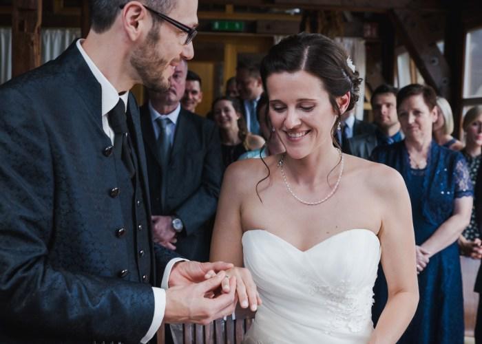 Hochzeit Trauung Standesamt Ringtausch