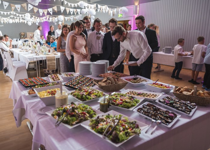 Hochzeit Restaurant Buffet