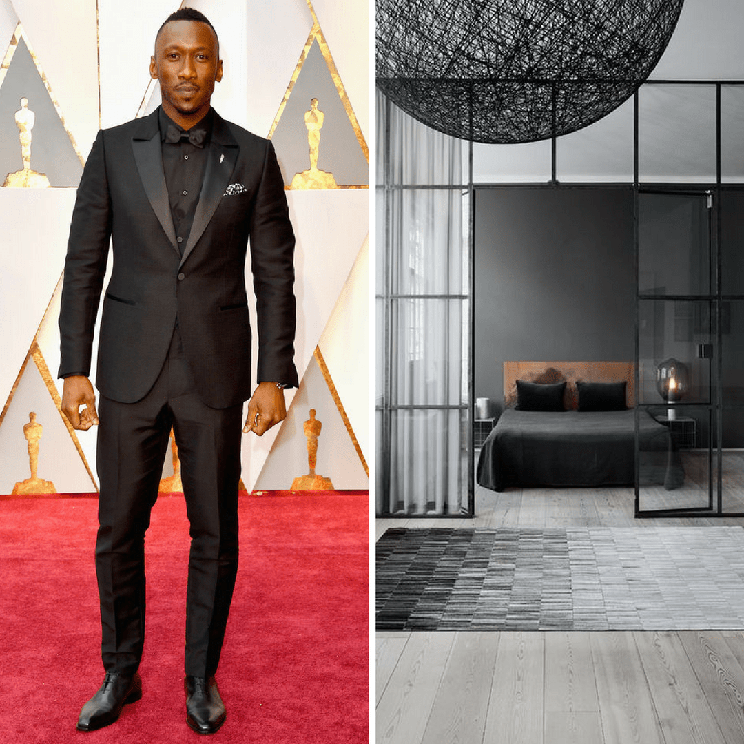 red carpet fashion inspiration to room interpretation