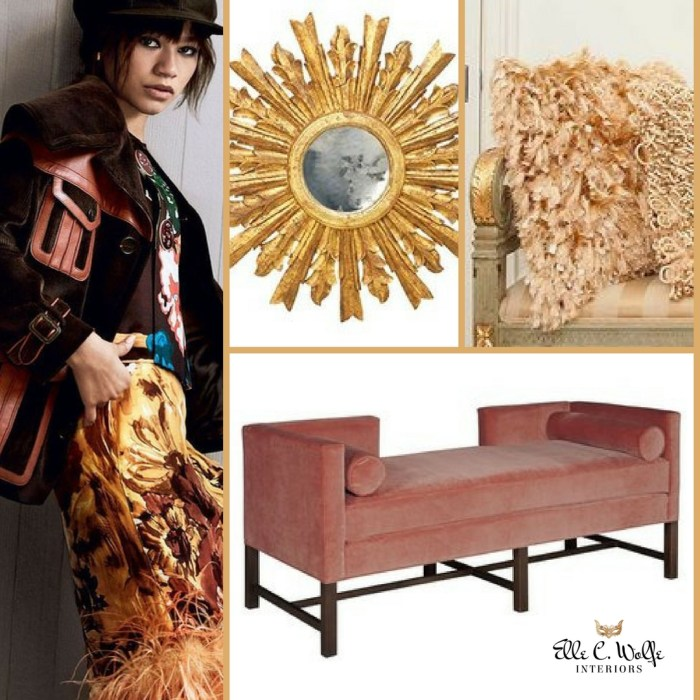 photo collage fashion and interiors