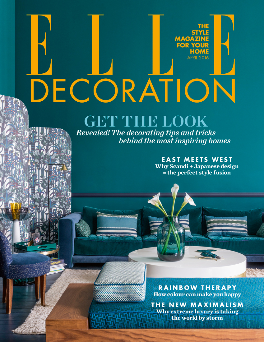April 2016 ELLE Decoration UK