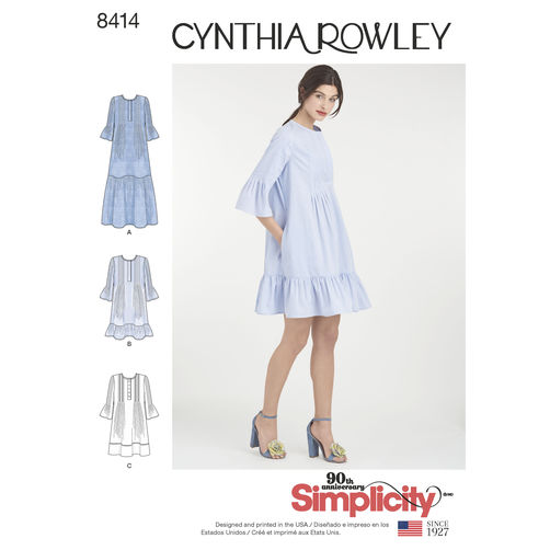 simplicity-dress-cynthia-rowley-miss-pattern-8414-envelope-front