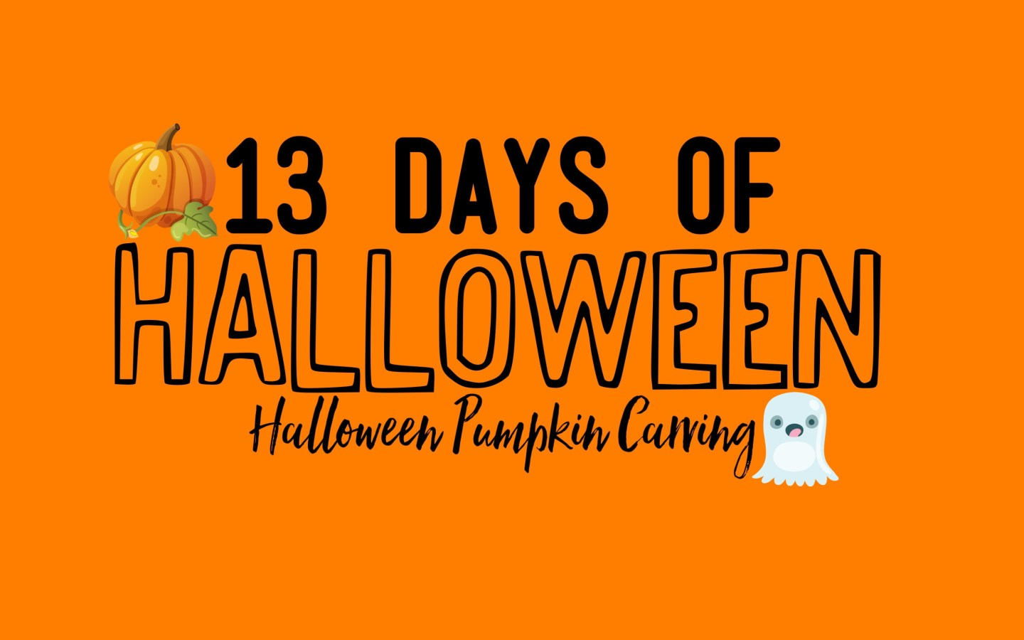 13 Days Of Halloween, Pumpkin Carving!