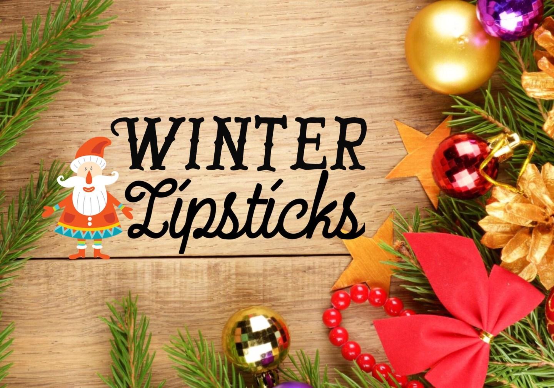 BLOGMAS, Winter Lipsticks!