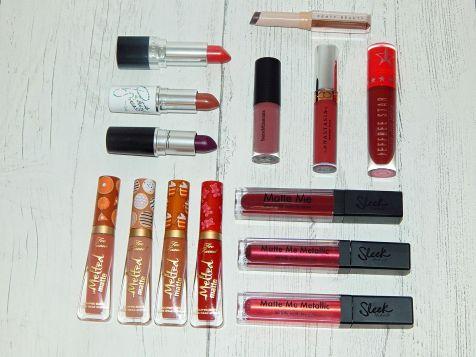 blogmas lipsticks 2