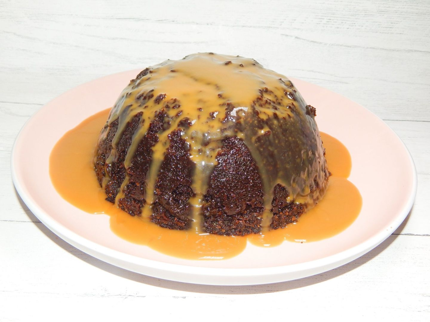 Steamed Sticky Toffee Pudding With Toffee Sauce Recipe!