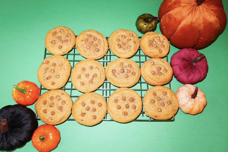Pumpkin Chocolate Chip Cookie Recipe!