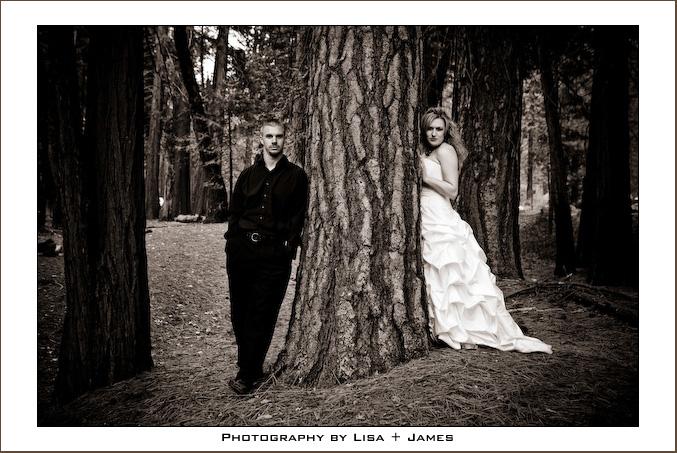 Angela and Brian, Yosemite 2008