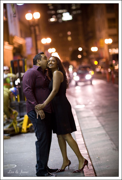 Anita & Vivek, Engagement, Union Square