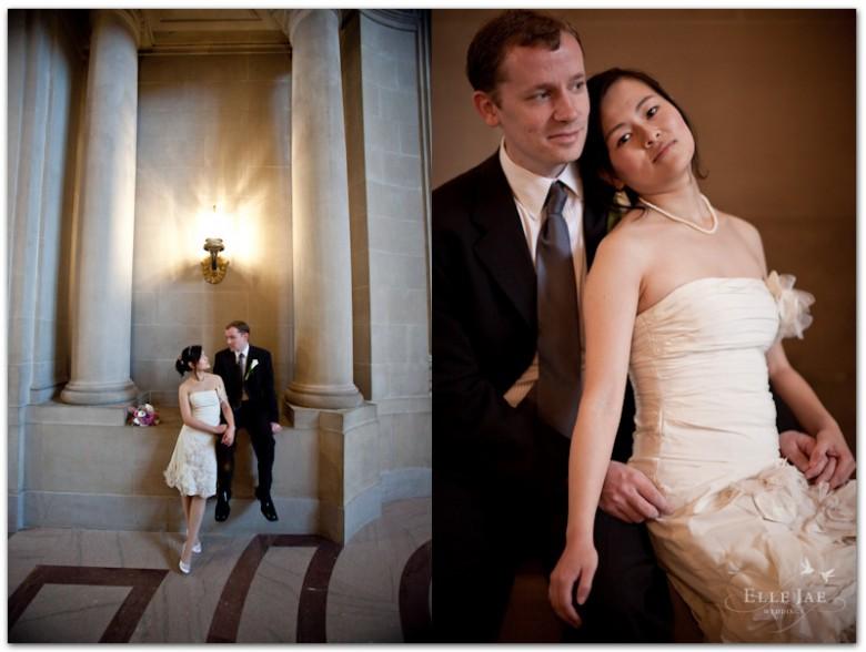 Gina & Keith, City Hall Elopement