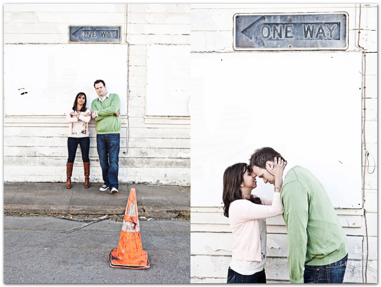 San Francisco engagement photo