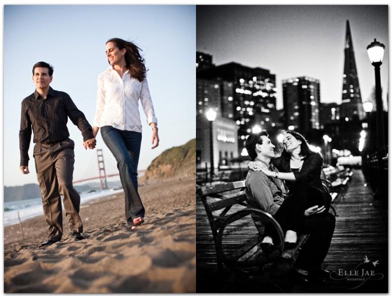 Raj Ann & John, San Francisco Engagement Photos