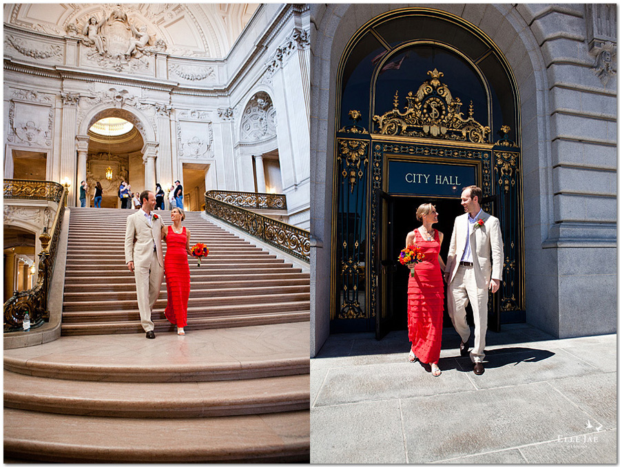 Jacqueline & Marc, San Francisco City Hall Wedding