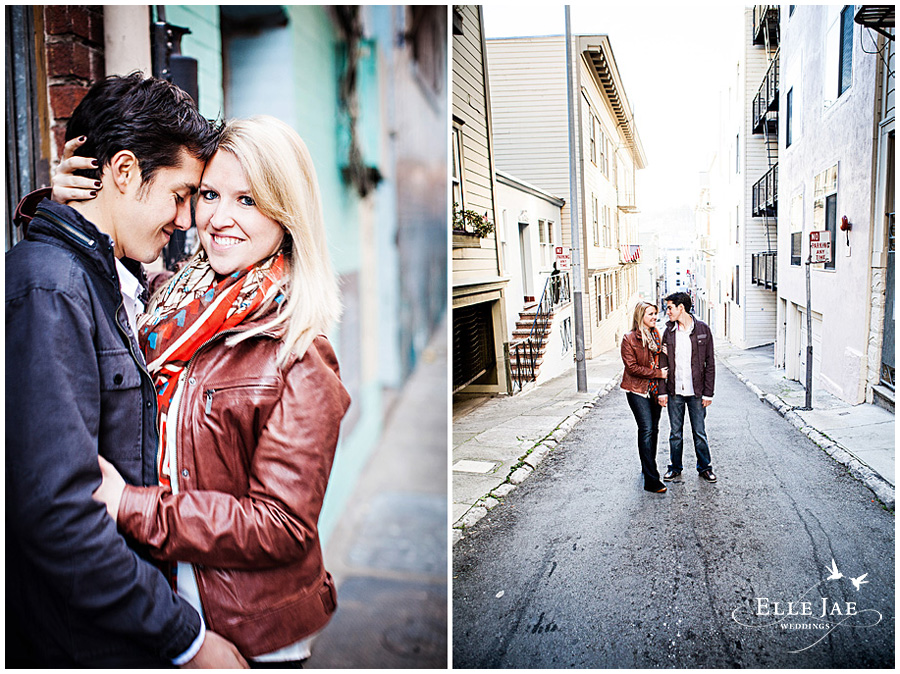Jenna & Mike's San Francisco Engagement Photography