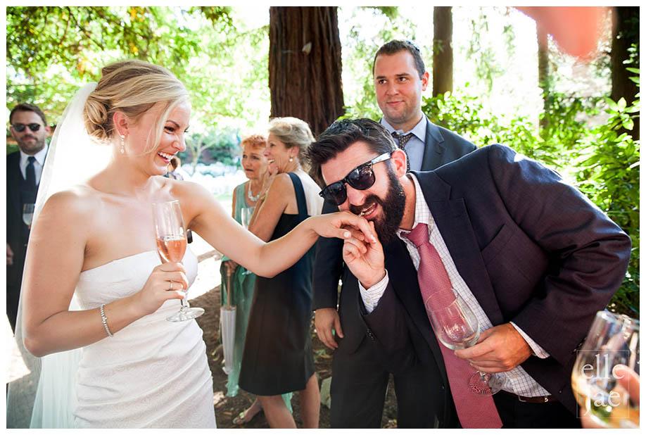 Beringer WInery Wedding